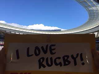 i love rugby